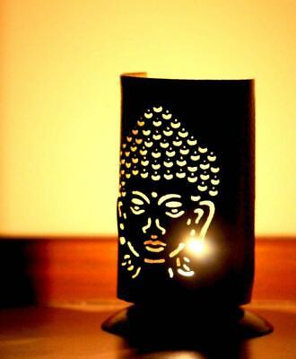 Budha Tea-Light Candle Holder Home Decor Diwali Gift Temple Aura Creative Art Om