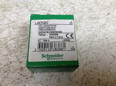Telemecanique LADN20 Auxiliary Contact Block Schneider New (TB)