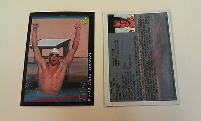 Tom Jager Swimming Olympics 1992 Classic World Class Athletes Rookie WCA