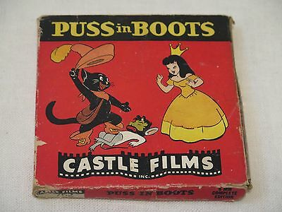 8 MM Film Puss in Boots ~ Castle Films ~ 8 MM Complete Edition