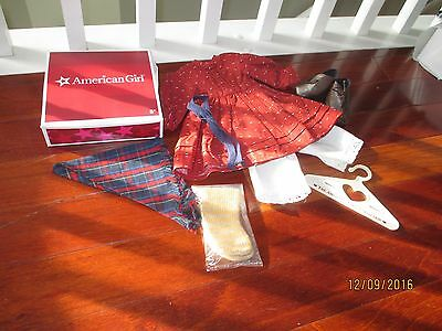 American Girl Doll Kirsten's School Outfit Pleasant Co Complete New
