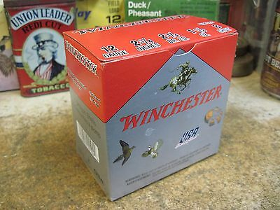 WINCHESTER USA 8 shot shell shotgun empty BOX  WM12812 ga