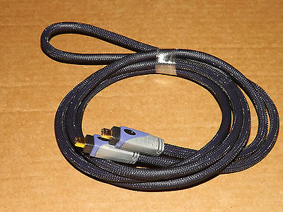 FIREWIRE 400 IEEE1394 4pin Male to 4pin Male Cable Gold plated Length 7FT.(New)