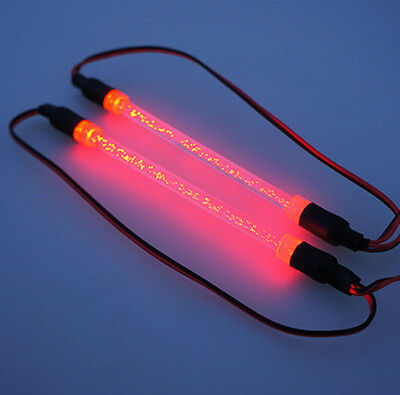 1/10 RED LED Light Bar Tube for RC Drifting Car Crawler Buggy Truck Chassis Kit