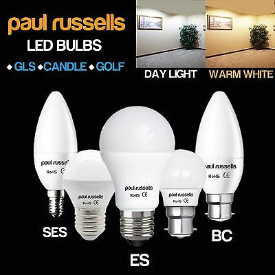 E14 E27 B22 B15 3W 5W 7W 12W LED Candle Bulbs BC ES GLS Light Globe Bulb Lamps