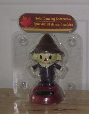 One Solar Dancing Scarecrow - Works with Sunlight or Artificial Light