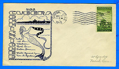 Submarine USS Cubera SS-347 Commissioned December 19, 1945