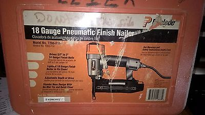 Paslode 18 Gauge Pneumatic Finish Nailer: T200-F16