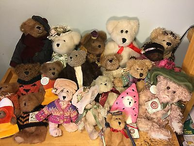LOT  BOYDS BEARS 20 TEDDY BEARS Collectables RETIRED NWT