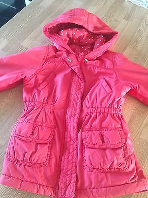 Lovely Girls Marks And Spencer (M&s) Coat Age 4-5 Years