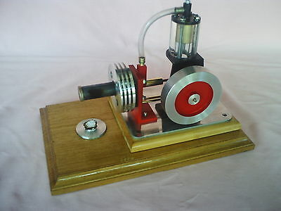 """Seethrough"" Model Hot Air Engine. SELLER WILL POST"
