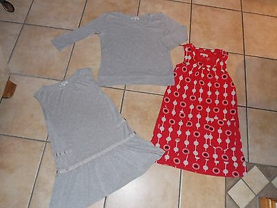 Girls 3 Piece Outfit/Set Dress/Tops Age 11 years by Girls Boutique@Marks&Spencer