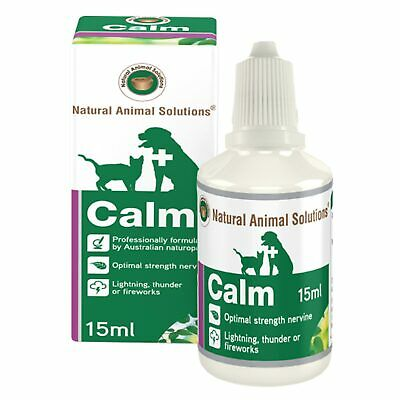 Natural Animal Solutions Calm 15Ml Dog Cat Anxiety Calming Assist