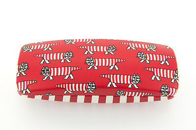Zoff  LISA LARSON MIKEY Glasses Case RED Limited Edition From Japan NEW