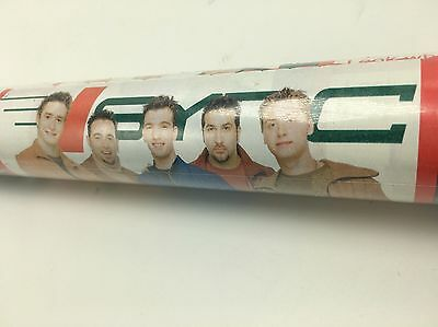 NSYNC Christmas Wrapping Paper Justin Timberlake 25 sq ft Roll NOS Music Mania
