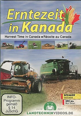 Harvest Time in Canada (2 DVD set) 190 min.