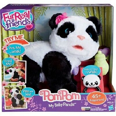 NEW FurReal Friends POM POM My Baby PANDA Pet