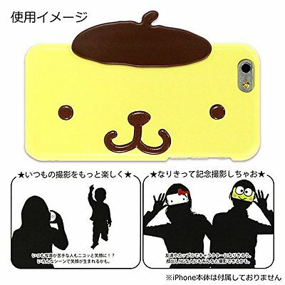 Sanrio iPhone 6s / 6 Face Case Pompomu Pudding (SAN-613PN) Gourmandise