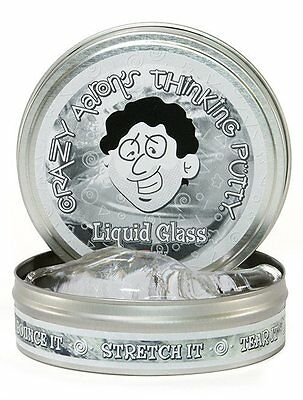 Crazy Aaron's Thinking Putty - Liquid Glass-3.2 ounces