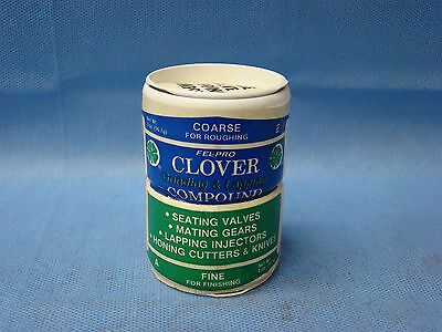Clover Valve Grinding Paste Lapping Compound Coarse 120 Grit 2oz Fine 280 2 oz