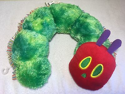 Plush Baby The Very Hungry Caterpillar Pillow  Eric Carle Infant Neck Support