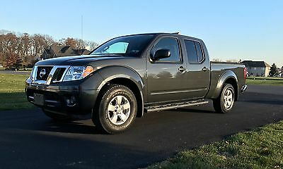 2012 Nissan Frontier SL 2102 Nissan Frontier Crew Cab 4WD MINT Condition Low Mileage