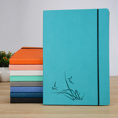 Cyan Soft Cover Grid Paper Notebook Writing Journal 8.7 x 5.9 inch for Designer