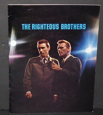 The Righteous Brothers 1965 Tour book concert program Bill Medley Bobby Hatfield