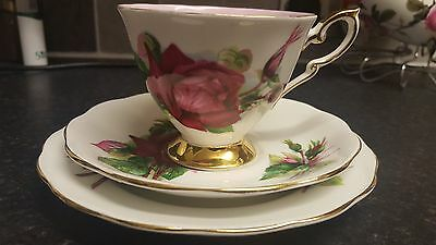 Royal Standard   Trio   Cup And Saucer & Side Plate
