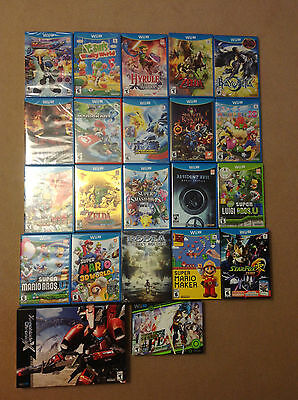 Nintendo Wii U Games Lot