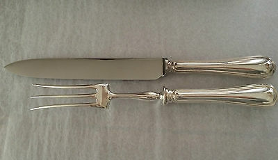 Christofle  spatours Grand couteau & fourchette. Carving knife & fork