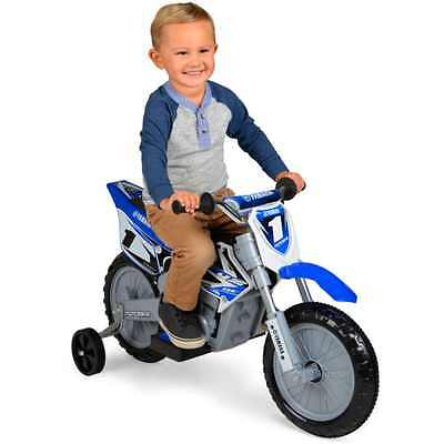 Yamaha 6 Volt Motorcycle Blue Kids Ride Electric NEW Free Shipping