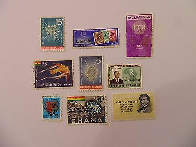 L1367 - Collection Of Mixed Africa Stamps