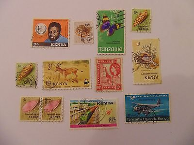 L1368 - Collection Of Mixed Africa Stamps
