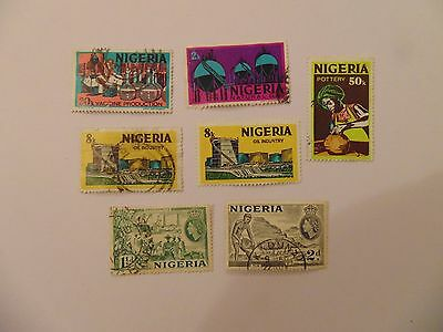 L1370 - Collection Of Nigeria Stamps