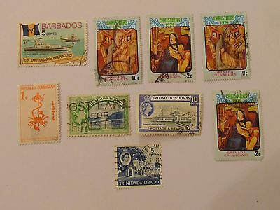L1373 - Collection Of West Indies Stamps