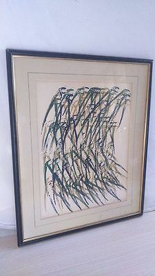 Lithographie signée. lithography signed ARMAN