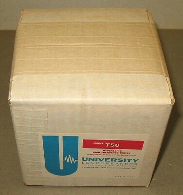 NOS University Model T50 Hypersonic High Frequency Driver (315-C)