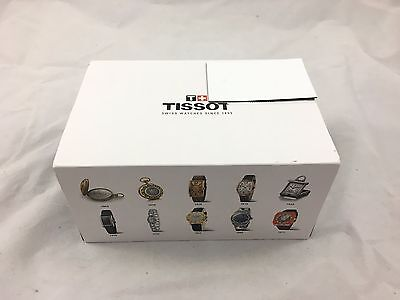 Tissot Men's PRC 200 Stainless Steel Watch with Blue Leather Band
