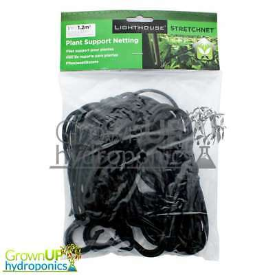 Horizontal Bungee Plant Support Net/Mesh-SCROG/Trellis-1m and 1.2m Grow Tents