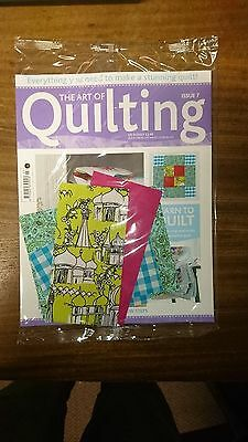 The Art of Quilting Issue Number 7, 9 or 30 Hachette Partwork Magazine