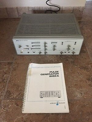 "Hewlett Packard Model 8082A, 250 MHz Pulse Generator "" Please Read Full Listing"""