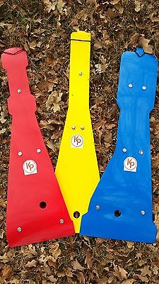 Kased Plates '87-'06 Yamaha Banshee Lifetime YELLOW 3mm Skid Plate