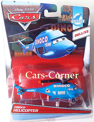 Disney Pixar Cars Dinoco Helicopter - The King Team - Mattel 2014 - NEU & OVP