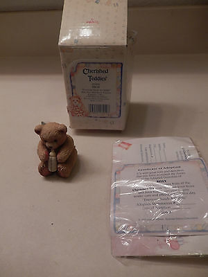 "Cherished Teddies Baby ""Everyone Needs A Cuddle"" Billy Collectible – 1993, 62489"
