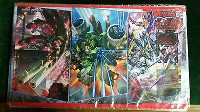 CardFight Vanguard Reckless Rampage Sneak Preview Play Mat. New Unopened.