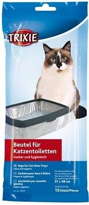 Cat Litter Tray Bags 37 x 48 cm 10 Bag Pieces Clean and hygienic