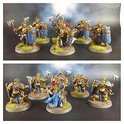 6X Liberators Warhammer Age Of Sigmar Stormcast Eternals Pro Painted Aos