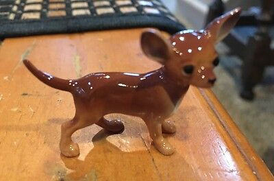 Hagen-Renaker Small Black Chihuahua MINIATURE HAGEN RENAKER made In USA