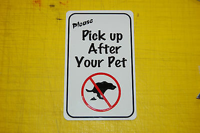 poop stoop and scoop lawn sign dog waste pick up after your dog